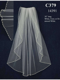 JL Johnson Bridals Veil Style C379 | House of Brides