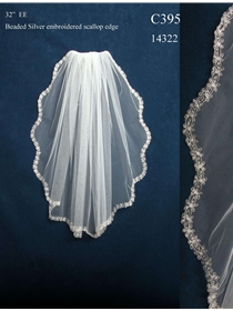 JL Johnson Bridals Veil Style C395 | House of Brides