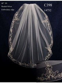 JL Johnson Bridals Veil Style C398 | House of Brides
