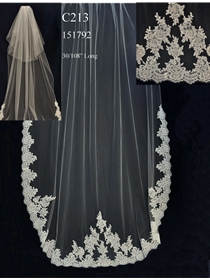JL Johnson Bridals Veil Style C213 | House of Brides