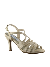 Dyeables Shoes Style Paisley Champagne Sparkle | House of Brides