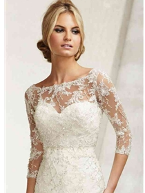Mori Lee Accessories Bridal Jacket Style 11014 | House of Brides