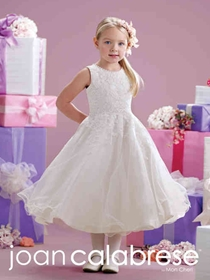 Joan Calabrese by Mon Cheri Flower Girl Dress Style 215349 | House of Brides