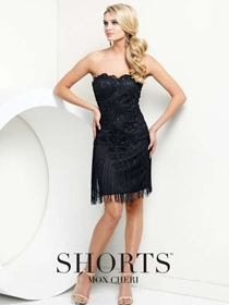 Shorts by Mon Cheri Short Formal Dress Style TS21552 | House of Brides