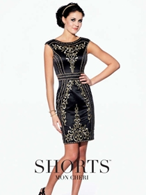 Shorts by Mon Cheri Short Formal Dress Style TS21571 | House of Brides