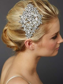 Mariell Bridal Headpiece Style 4387H-S | House of Brides