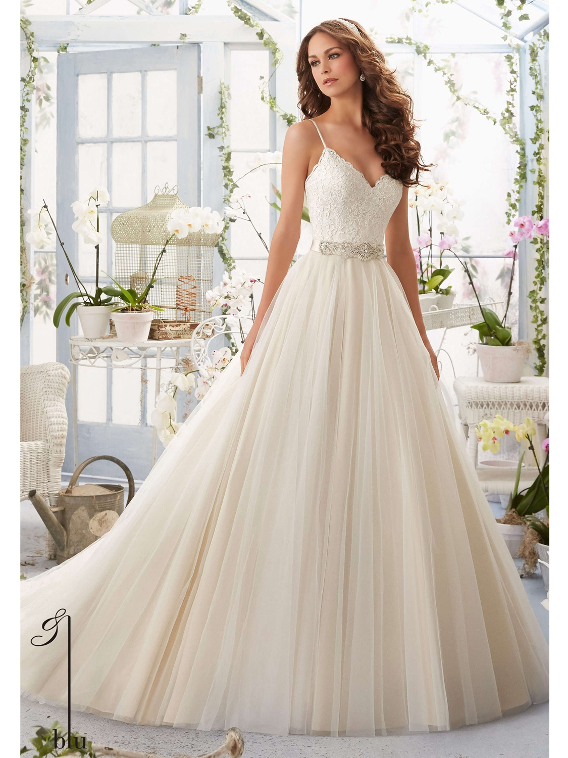 Blu by Mori Lee Wedding Dress Style 5416 | House of Brides