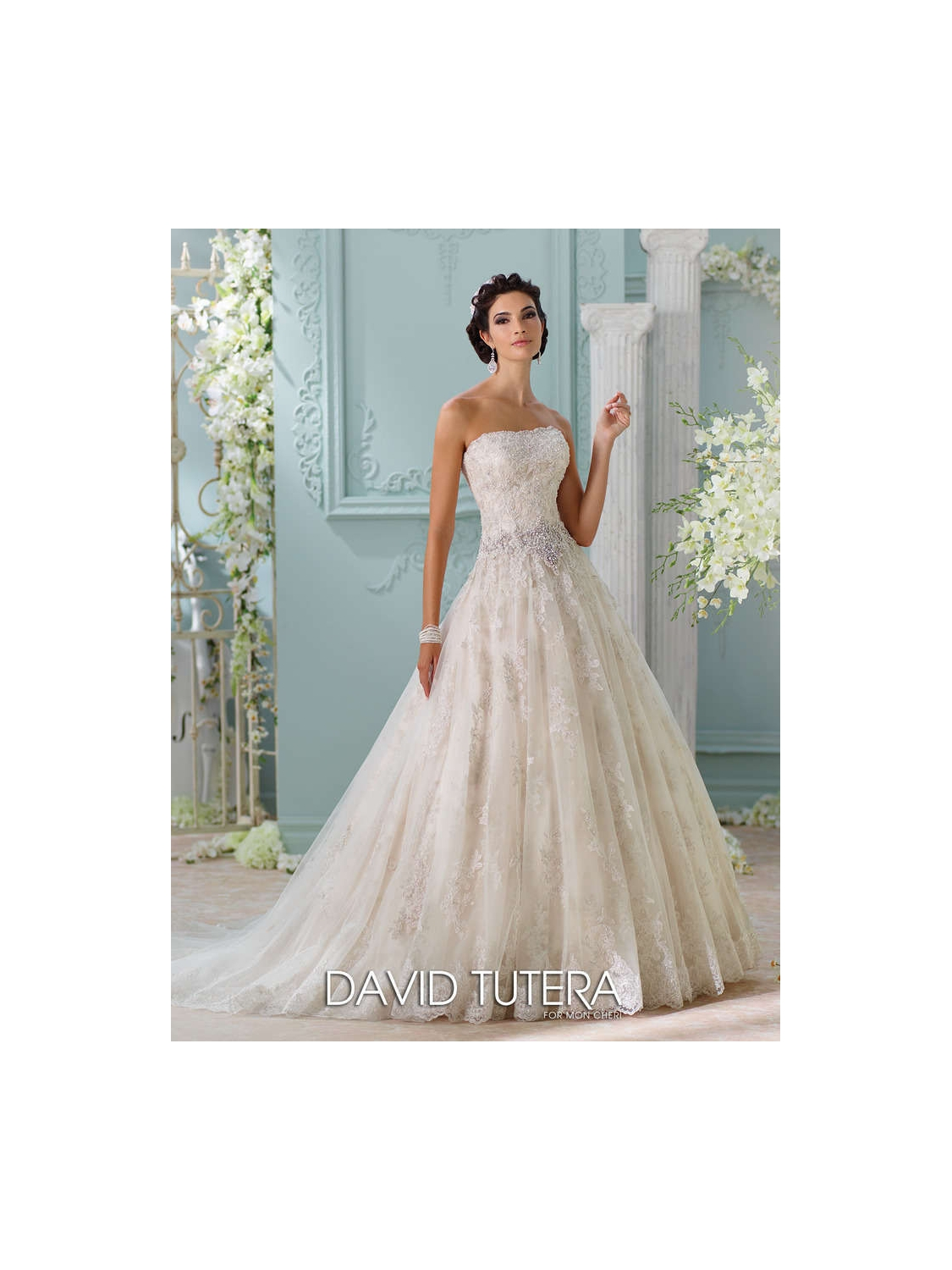 David Tutera for Mon Cheri Wedding Dress Style 116230 | House of Brides