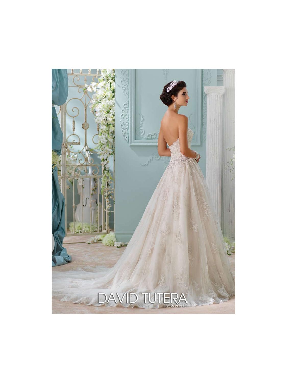 David Tutera for Mon Cheri Wedding Dress Style 116230 | House of Brides