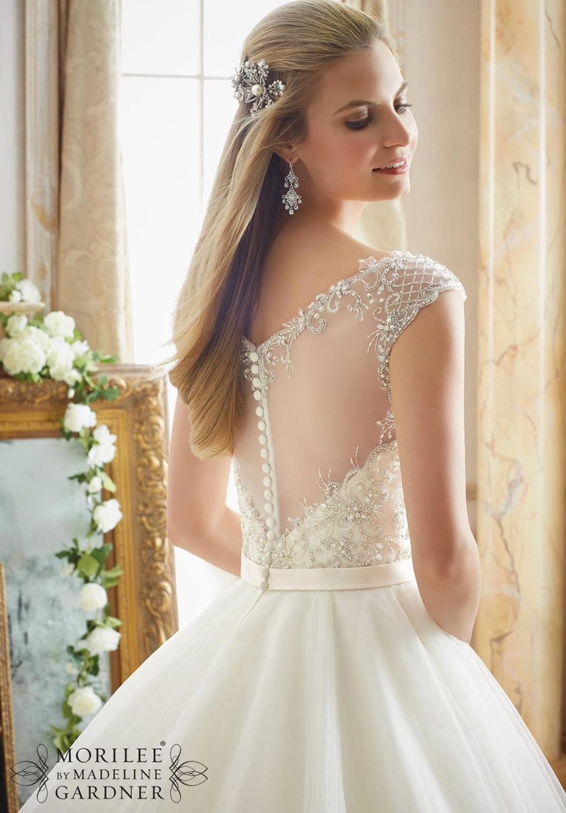 Mori Lee Accessories Bridal Belt Style 11241   House of Brides