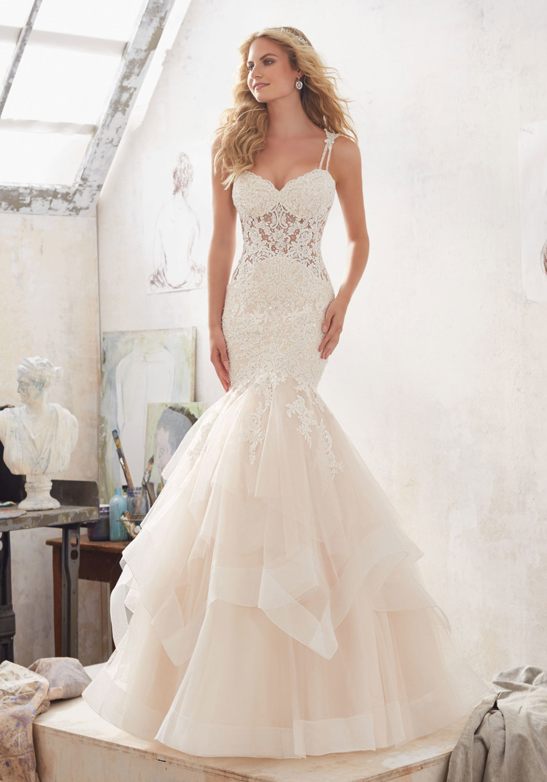 Affordable Mori Lee Wedding Dresses Designer Bridal Gowns With Dress Price Range