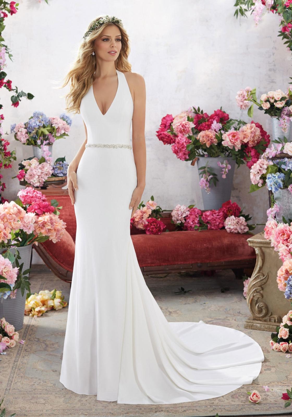 Voyage by Mori Lee Wedding Dress Style 6855/Melanie   House of Brides
