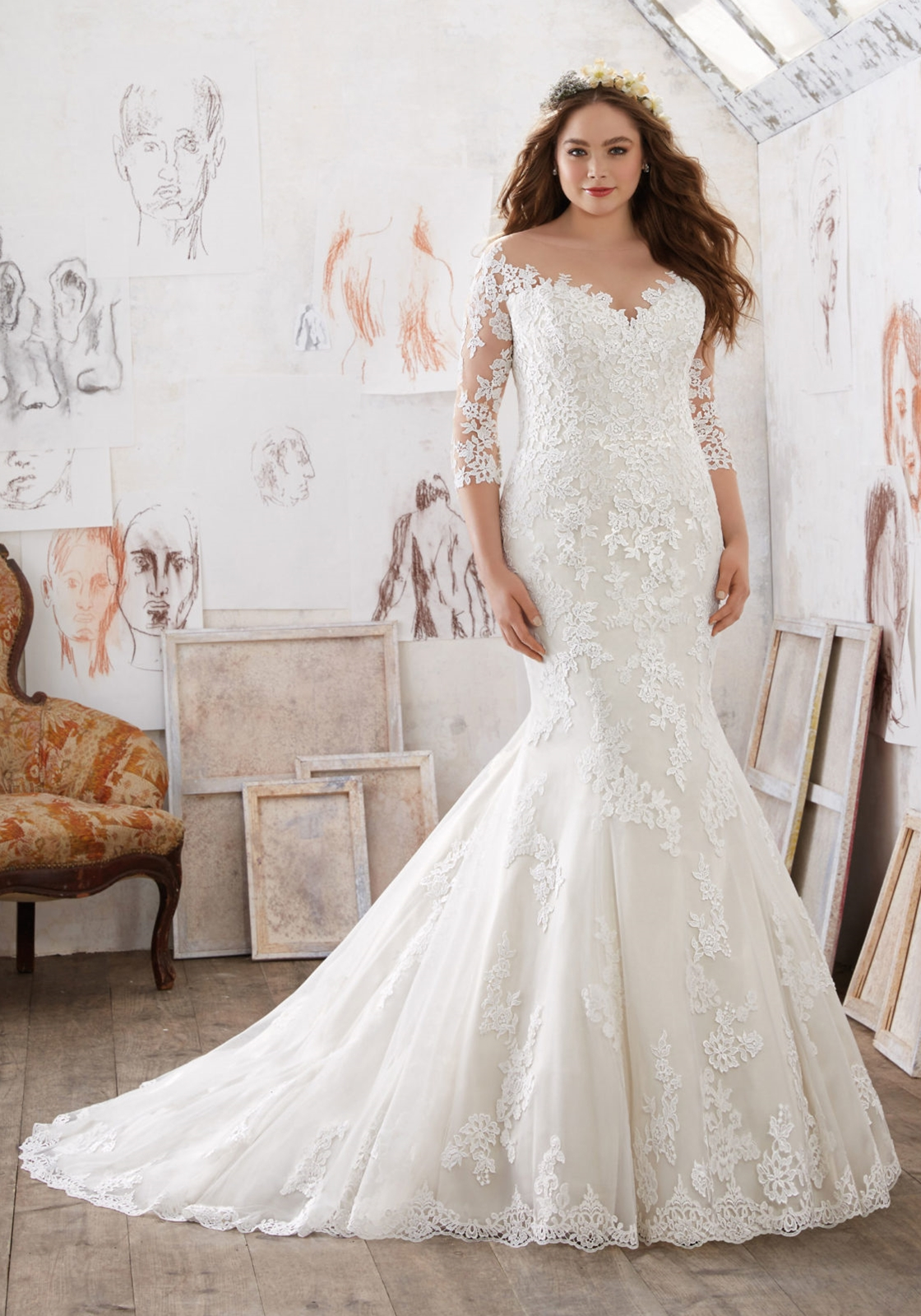 Julietta By Mori Lee Wedding Dress Style 3212 Mia