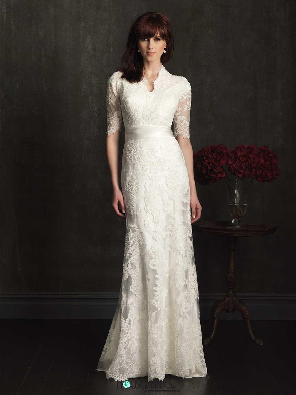 Allure Modest Wedding Dress Style M505 | House of Brides