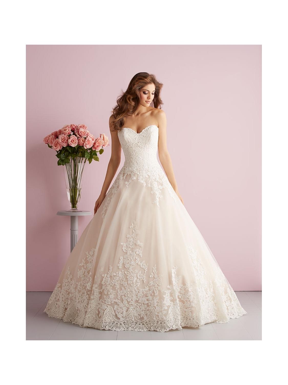 Allure Romance Wedding Dress Style 2701 House Of Brides