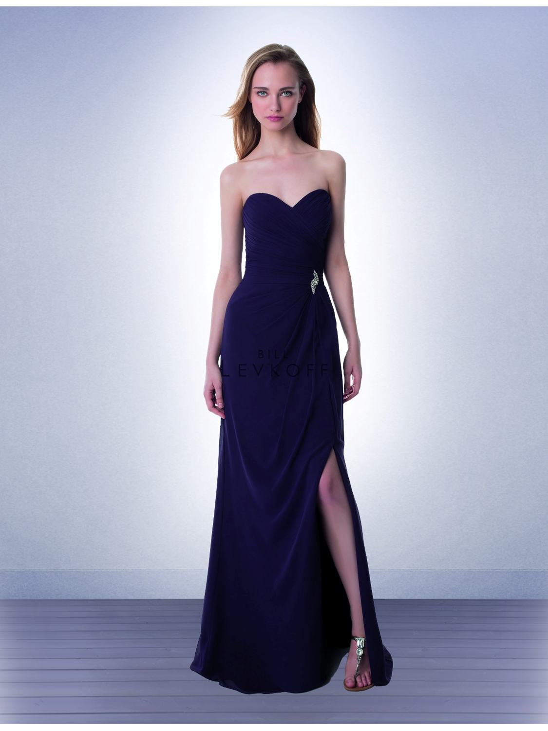 62c8e130f4172 Bill Levkoff Bridesmaid Dress Style 978 | House of Brides