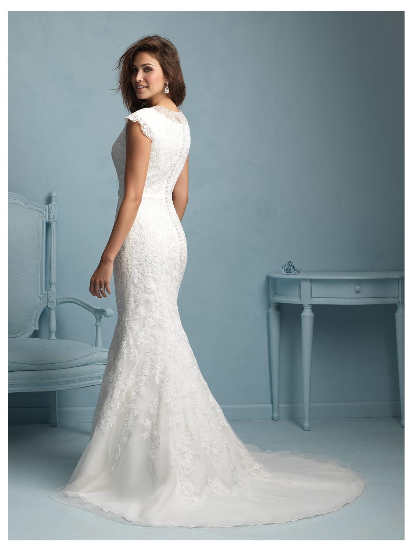 Allure Modest Wedding Dress Style M534 | House of Brides
