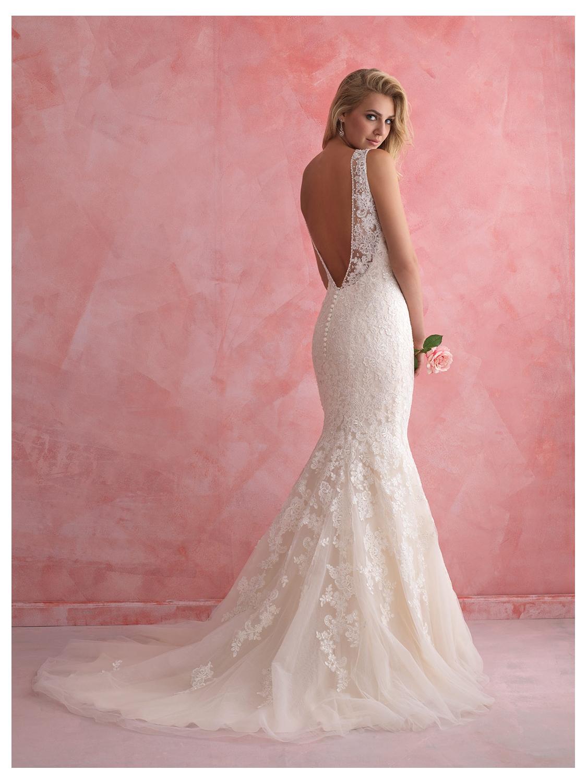 Allure Romance Wedding Dress Style 2807   House of Brides