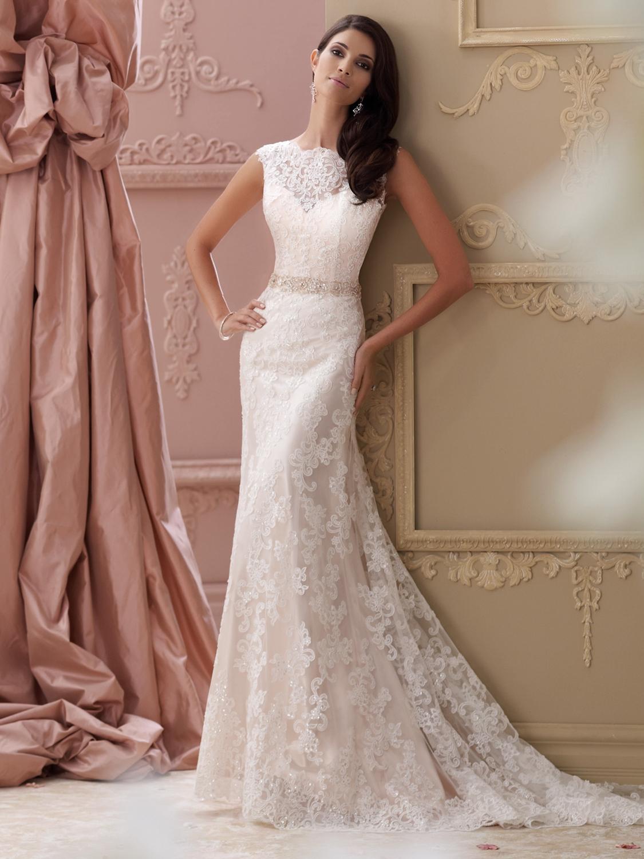 David Tutera for Mon Cheri Wedding Dress Style 115242 | House of Brides