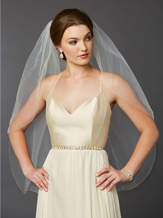 Mariell Veil Style  4434V-36-l-G | House of Brides