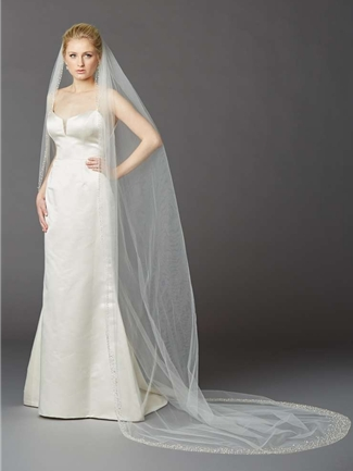 Mariell Veil Style  4424V-I | House of Brides