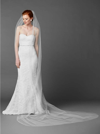 Mariell Veil Style 4433V-120-W | House of Brides