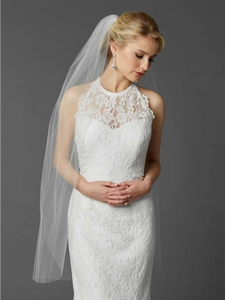 Mariell Veil Style  4433V-42-W | House of Brides