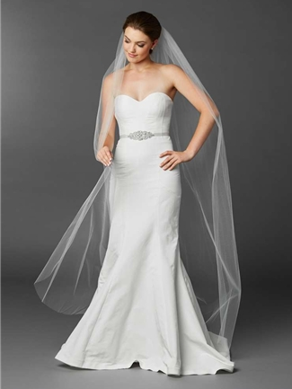 Mariell Veil Style  4433V-72-W | House of Brides