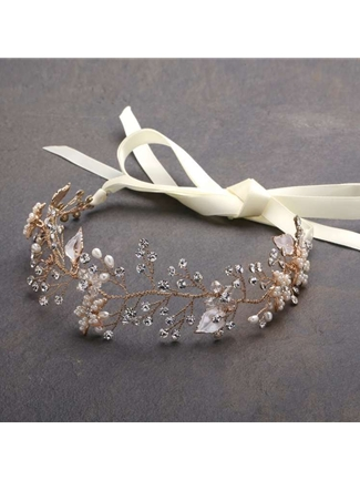 Mariell Bridal Headband Style 4384HB-I-G | House of Brides