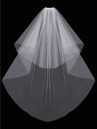 En Vogue Bridal Accessories Veils Style V03CF-B | House of Brides