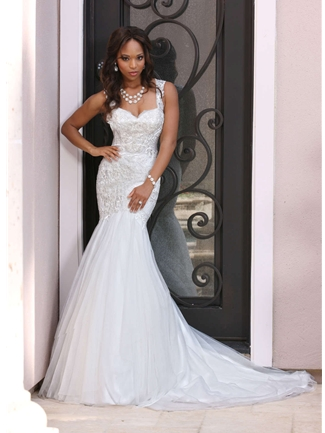 DaVinci Bridals Wedding Dress Style 50373 | House of Brides