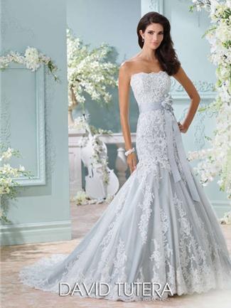 David Tutera for Mon Cheri Wedding Dress Style 116225 | House of Brides