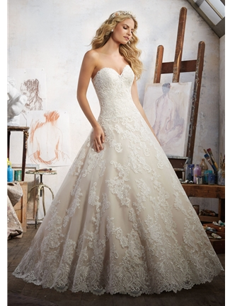 Mori Lee Wedding Dresses Dress Style 8108/Magdalena | House of Brides