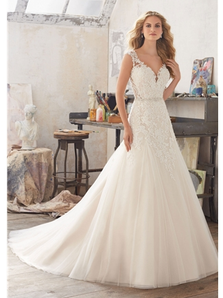 Mori Lee Wedding Dresses Dress Style 8117/Marciana | House of Brides