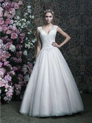 Allure Couture Wedding Dress Style C407 | House of Brides
