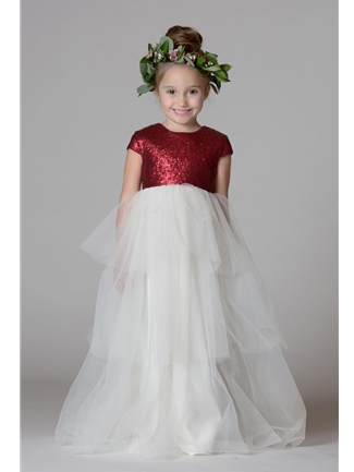 Bari Jay Flower Girl Dress Style F7717 | House of Brides