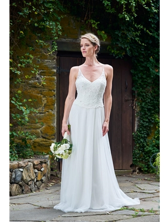 White Collection by Bari Jay Wedding Dress Style 2091  |  House of Brides