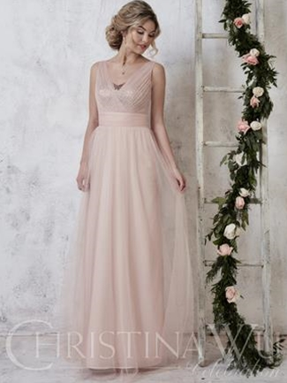 Christina Wu Celebration Bridesmaid Dress Style 22728  |  House of Brides