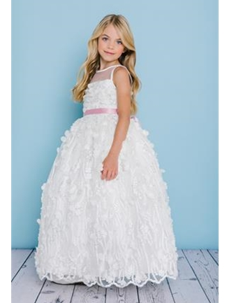 Rosebud Fashions Flower Girl Dress Style 5133  |  House of Brides