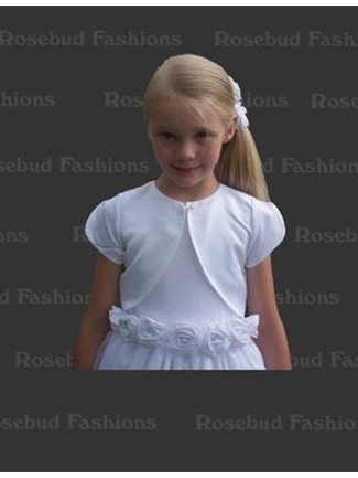 Ships Now Flower Girl Jacket Style J01  |  House of Brides