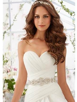 Mori Lee Accessories Bridal Belt Style 11233 | House of Brides