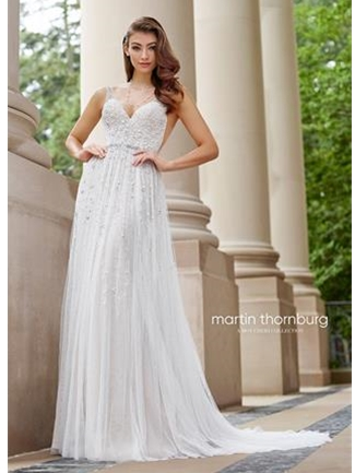Martin Thornburg For Mon Cheri Wedding Dress Style 118254 Stanza House Of Brides,Gothic Plus Size Gothic Black And White Wedding Dresses