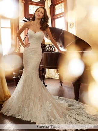 Sophia Tolli Bridals Wedding Dress Style Y11728/Jacqui | House of Brides