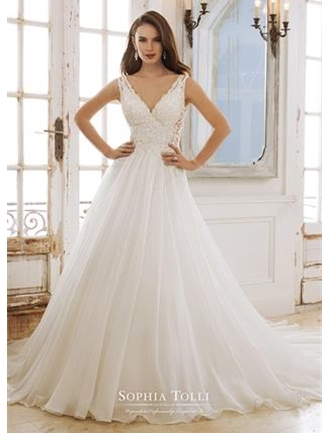 Sophia Tolli Bridals Wedding Dress Style Y11882/Peri | House of Brides