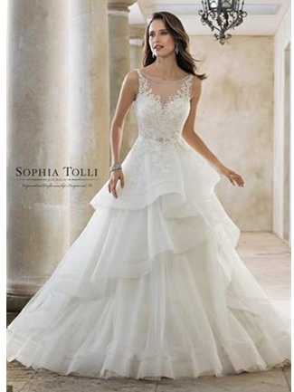 Sophia Tolli Bridals Wedding Dress Style Y11888/Helia | House of Brides