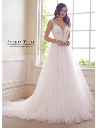Sophia Tolli Bridals Wedding Dress Style Y21821/Alexandrite | House of Brides