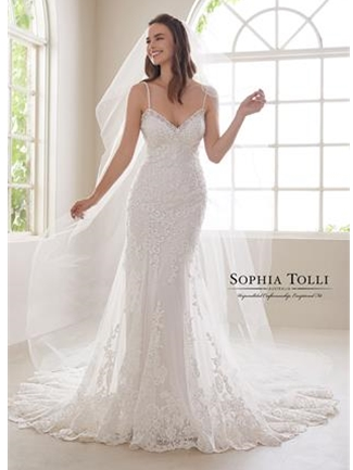 Sophia Tolli Bridals Wedding Dress Style Y21833/Aquamarine | House of Brides