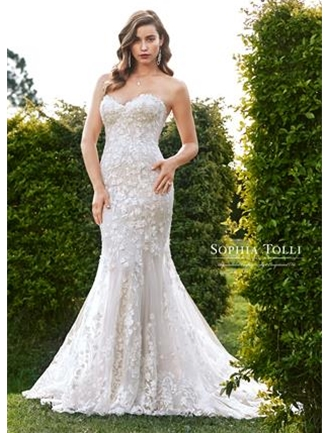 Sophia Tolli Bridals Wedding Dress Style Y11964F/Leona | House of Brides