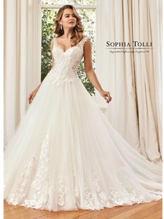 Sophia Tolli Bridals Wedding Dress Style Y11965B/Hayden Elise | House of Brides