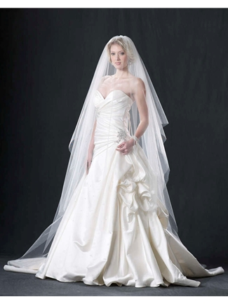 Edward Berger Veil Style 4451 | House of Brides